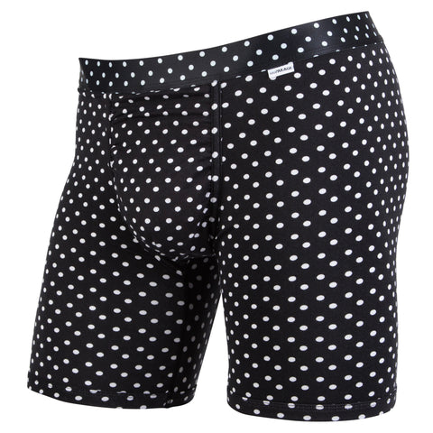 Weekday Boxer Brief: Black Dots