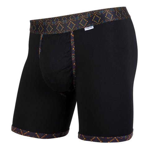 Weekday Boxer Brief: Black 90S Aztec