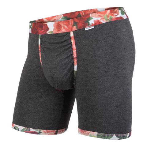 Weekday Boxer Brief: Dark Heather Rose