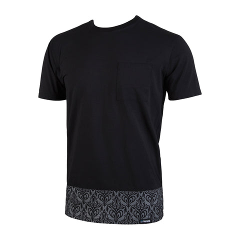 Weekday Select Tee: Black/Midnight