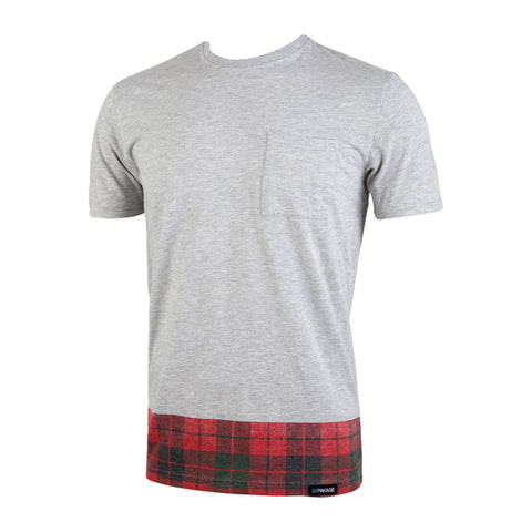 Weekday Select Tee: Heather/Camp-Vibe Plaid