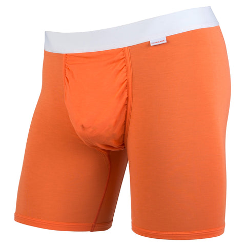 High-Vis Orange/White