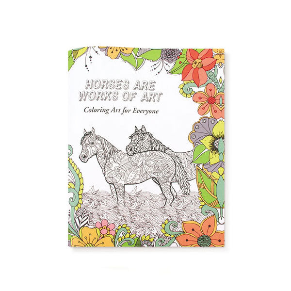 Horse Coloring Book for Everyone