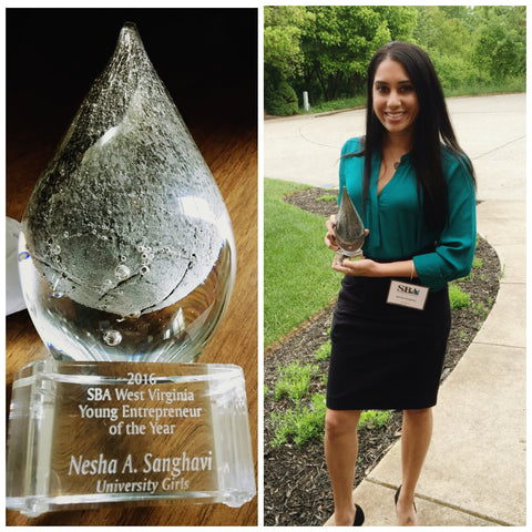 Nesha Sanghavi Young Entrepreneur of the Year 2016