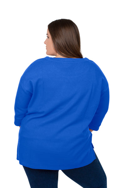 Plus Size Kentucky Wildcats Favorite Waffle Top
