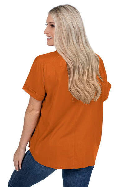 Texas Longhorns Dolman Sleeve Top