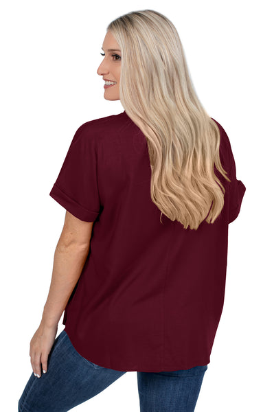 Mississippi State Dolman Sleeve Top