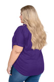 Plus Size LSU Tigers Dolman Sleeve Top