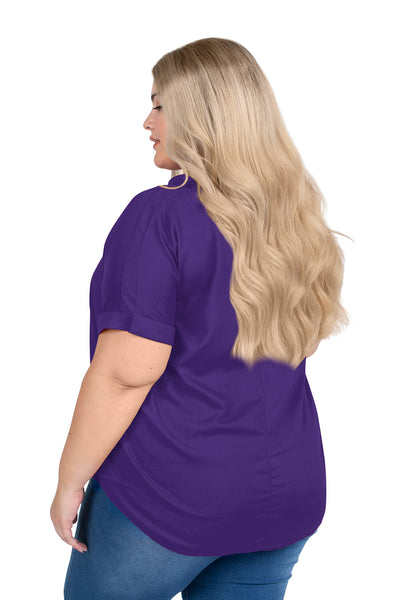 Plus Size Kansas State Dolman Sleeve Top
