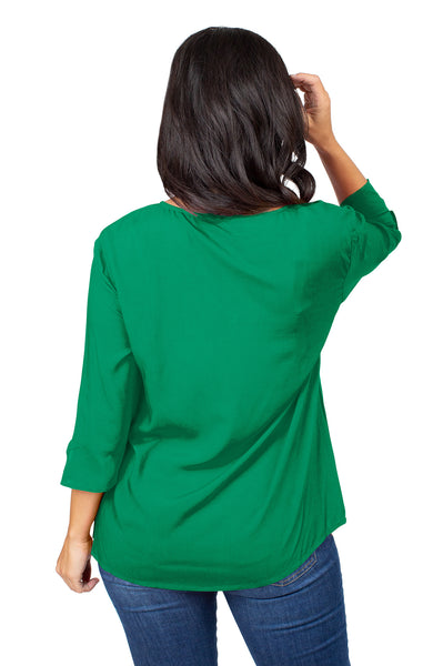 Marshall University Flutter Sleeve Top