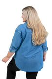 Plus Size Oklahoma State Perfect Denim Shirt