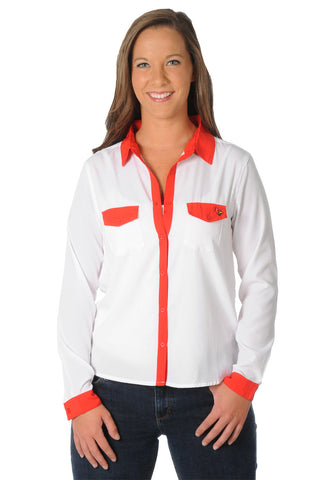 louisville cardinals blouse