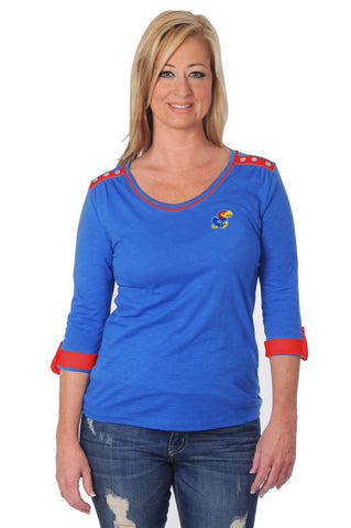 kansas jayhawks womens shirt