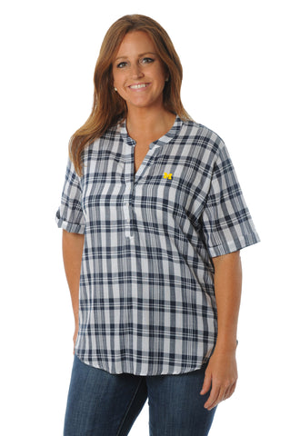 Michigan wolverines plus size top