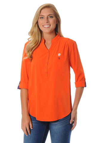 Clemson Tigers Roll-Up Tunic
