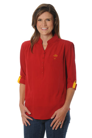 Iowa State Cyclones Roll-Up Tunic