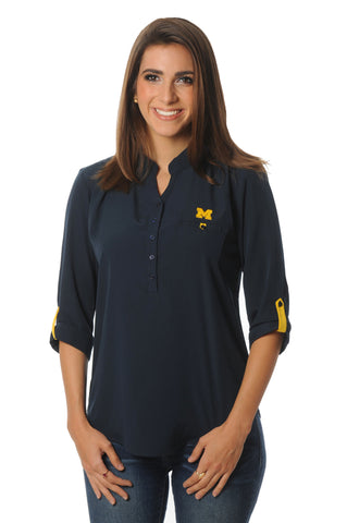 Michigan Wolverines Roll-Up Tunic