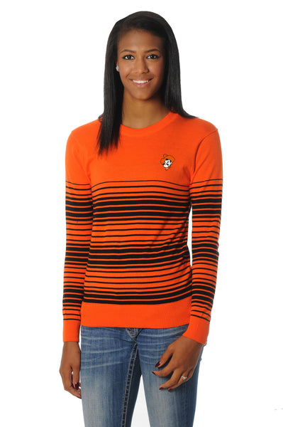 Oklahoma State Cowboys Striped Sweater