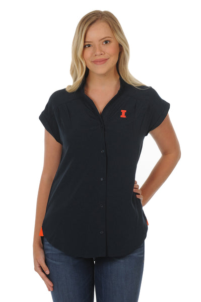 Illinois Fighting Illini Day to Night Tunic