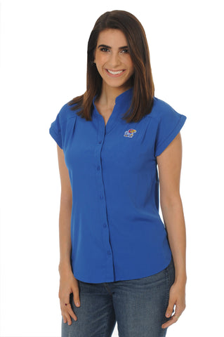 Kansas Jayhawks Day to Night Tunic