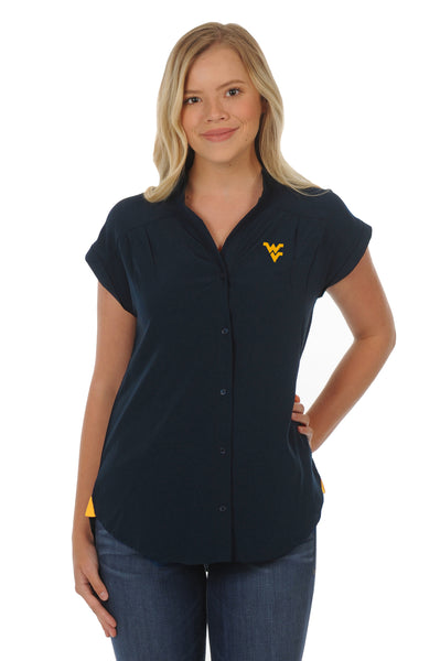 West Virginia Mountaineers Day to Night Tunic