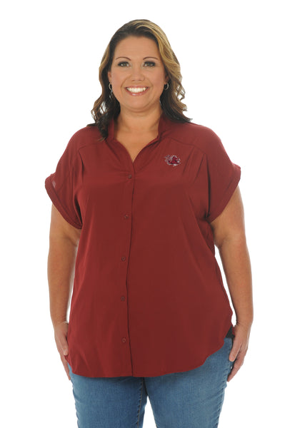 Plus Size South Carolina Day to Night Tunic Top