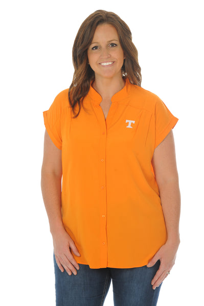 Plus Size Tennessee Volunteers Day to Night Tunic Top