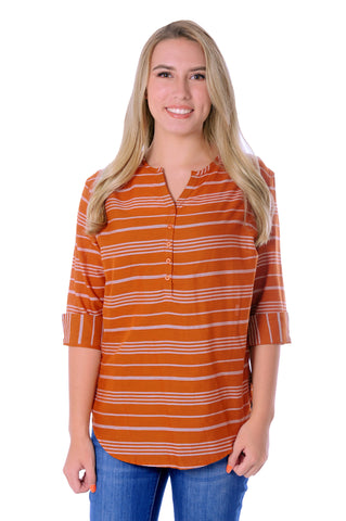 Burnt Orange School Spirit Tunic