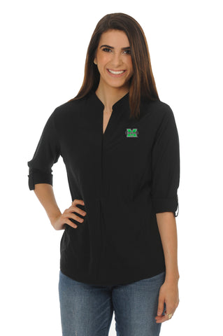 Marshall University Black Classic Tunic