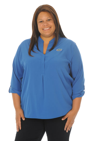 Plus Size Florida Gators Blue Classic Tunic