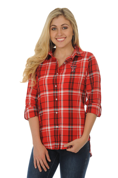 Texas Tech Red Raiders Boyfriend Plaid