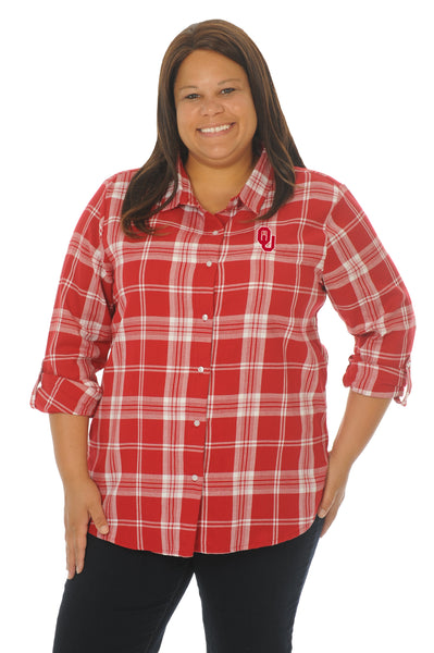 Plus Size Oklahoma Women's Shirt