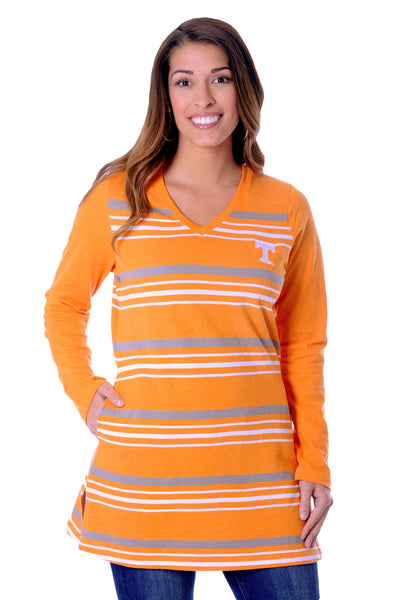 Tennessee Volunteers Striped Fleece Top