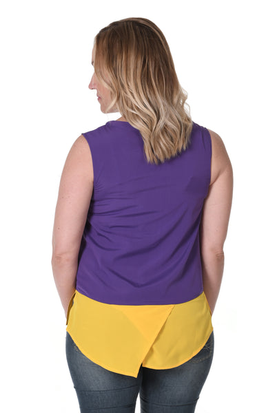 LSU Purple Tank Top