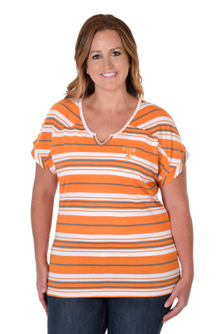 Plus Size Tennessee Volunteers Let's Tailgate Tee