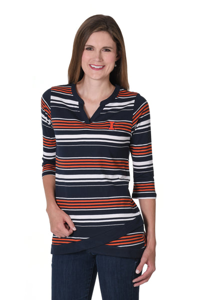 Illinois Fighting Illini Asymmetrical Tunic