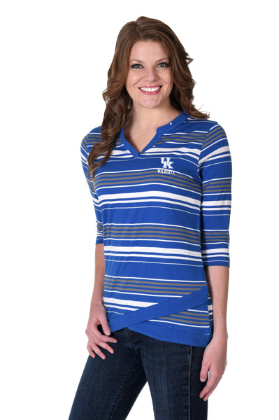 Kentucky Wildcats Asymmetrical Tunic
