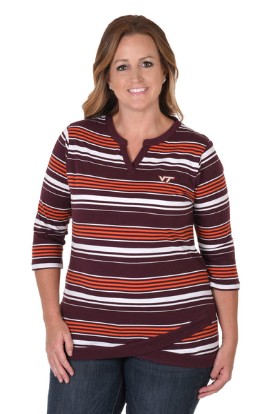Virginia Tech Hokies Asymmetrical Tunic