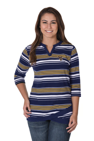 West Virginia Mountaineers Asymmetrical Tunic