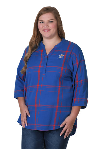 university of Kansas Plus Size shirt