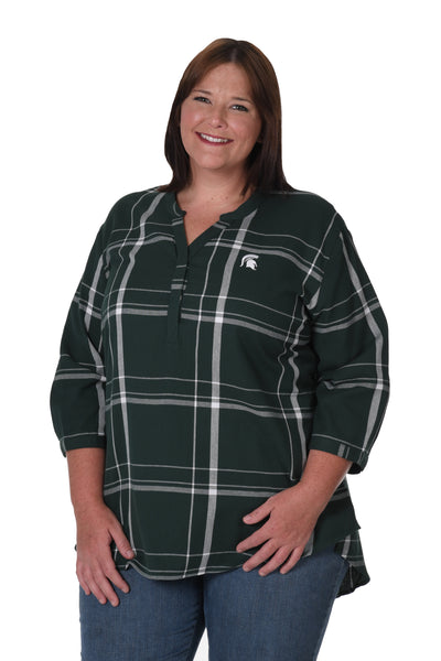 Michigan State plus size shirt