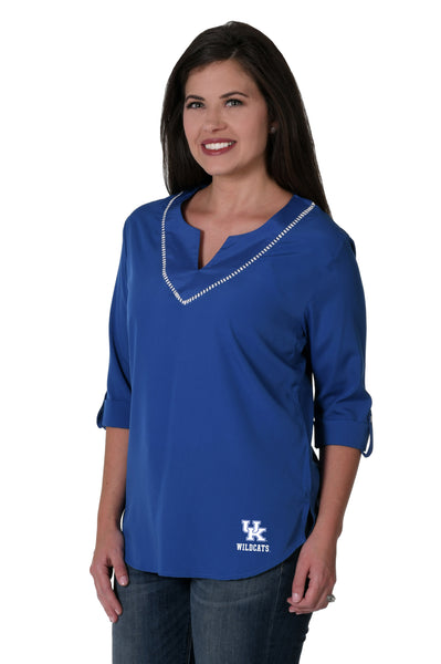Kentucky Wildcats Stitched Neckline Tunic