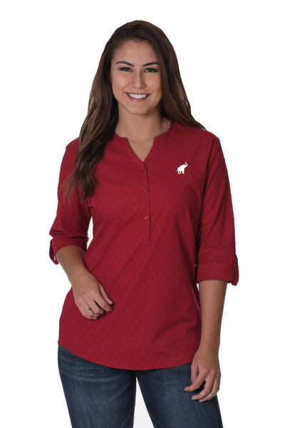 Alabama Crimson top