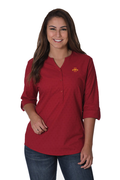 IOWA STATE BUTTON DOWN SHIRT