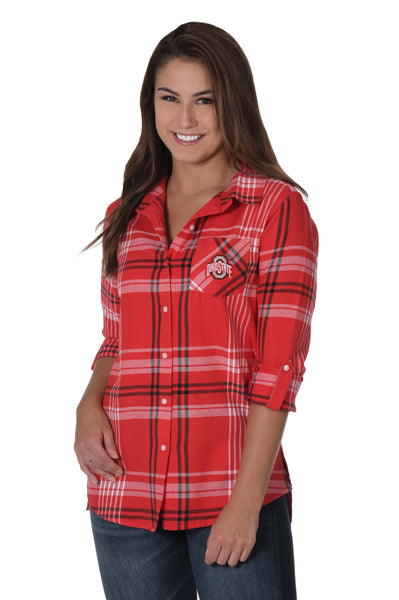 Ohio State Cute Button Down Shirt