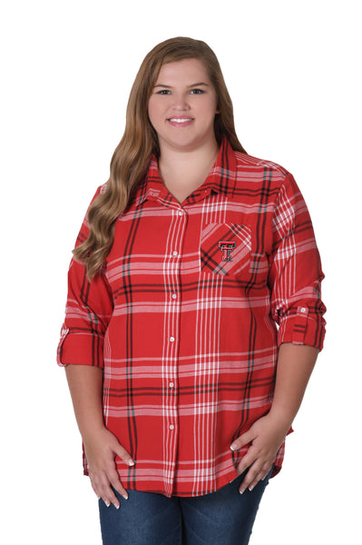 Plus size texas tech shirt