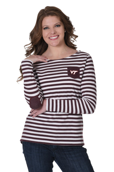 Virginia Tech Hokies Elbow Patch Fleece