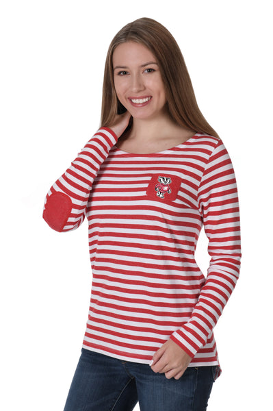 Wisconsin Badgers Elbow Patch Fleece