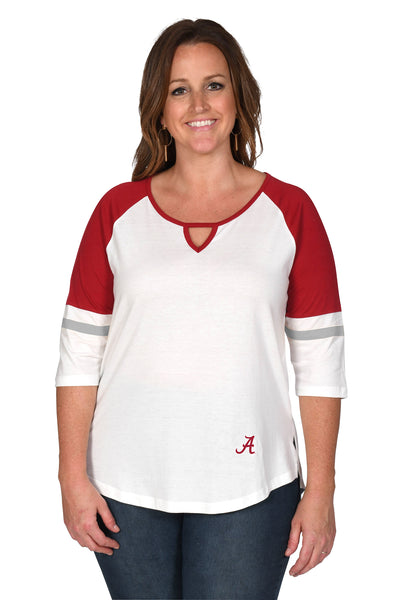Alabama Crimson Tide Women's Plus Size Top