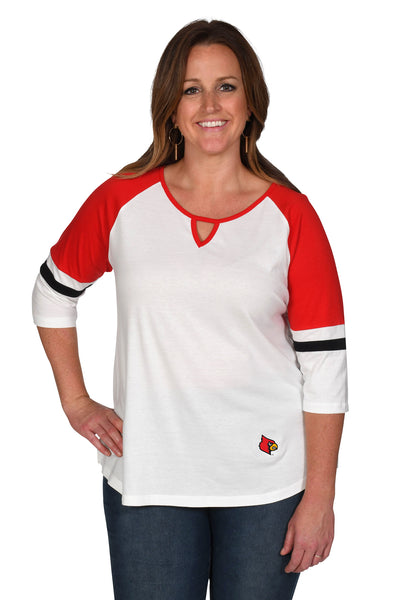 Louisville Cardinals Women's Plus Size Top